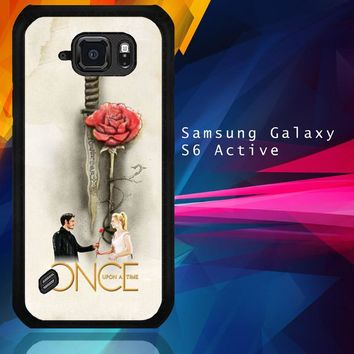 Once Upon A Time Rose X3423 Samsung Galaxy S6 Active  Case