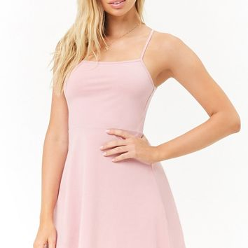Cami Fit & Flare Mini Dress