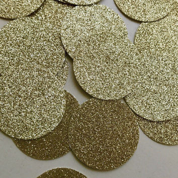 Large Gold Glitter Confetti, Glitter Confetti, Gold Confetti, Chic Confetti, Party Decor, Graduation Party Decor, Birthday Party Decor
