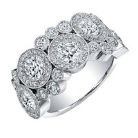 Forevermark Bubble Fashion Ring 1&nbsp5/8ctw