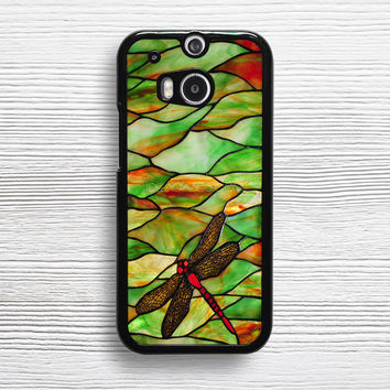 Tiffany Dragonfly Style Stained Glass HTC case, iPhone 4s 5s 5c 6s Plus Cases, Samsung Case,iPod Touch 4 5 6 case, Sony Xperia case, LG case, Nexus case, iPad case