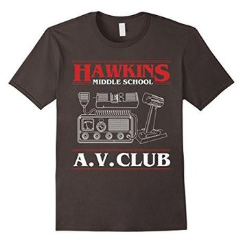 Hawkins A.V. Club Funny T Shirt Stranger Of Things
