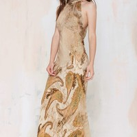 Vintage Roberto Cavalli La Boutique Silk Dress