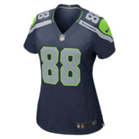 Nike NFL Seattle Seahawks (Jimmy Graham) Women's Football Home Game Jersey