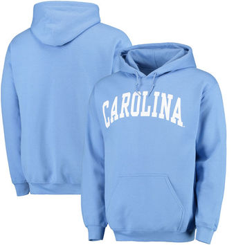 North Carolina Tar Heels Light Blue Basic Arch Pullover Hoodie