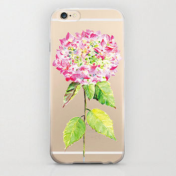 Peony Style Flower iPhone 6 Case Floral Pink iPhone 6 Plus Girly Trendy Cutest iPhone 6s Case and Gorgeous Clear iPhone 6s Plus Flowers