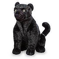 Bagheera Plush - The Jungle Book - Live Action - Medium - 13 1/2''