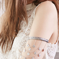 Tiered Coin Arm Cuff