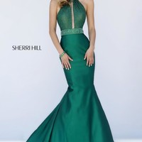 Sherri Hill Elegant Fit and Flare Dress 11329