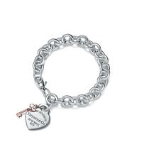 Tiffany & Co. - Return to Tiffany®:Heart Tag Key Bracelet