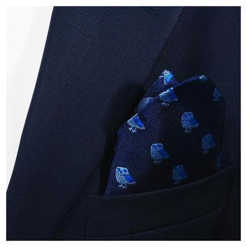 Owl Pocket Square