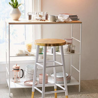 Emery Gold Bar Stool | Urban Outfitters