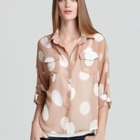 Vintage Havana Top - Polka Dot | Bloomingdale's