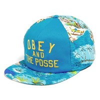 Obey 'Adventure' Snapback Cap