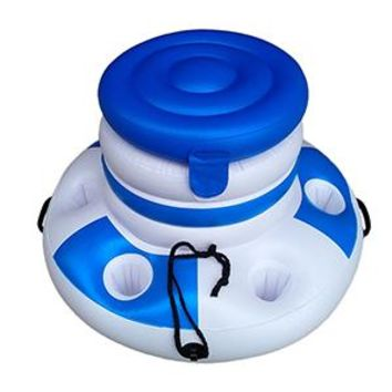 Swimming Pool beach Big buoyancy leisure water inflatable ice bucket holder mobile phone cola drink bottle cup holder  accessoriesSwimming Pool beach KO_14_1