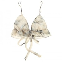 Buy Beautiful Bottoms luxury lingerie - Beautiful Bottoms Dove Double Frill Bra  | Journelle Fine Lingerie