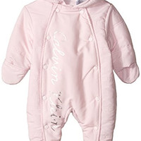 Calvin Klein Baby-Girls Newborn Hooded Light Pram, Pink, 6-9 Months