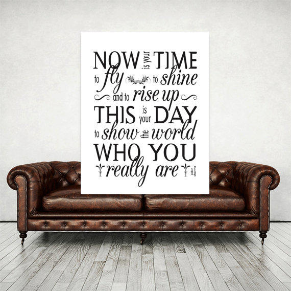 Robin Sharma Quotes Motivational Wall Decor Inspirational Office Art