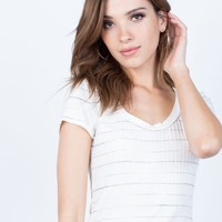 Soft Striped Tee