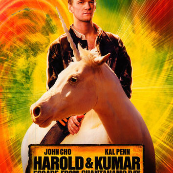 Harold and Kumar: Escape from Guantanamo Bay 27x40 Movie Poster (2008)