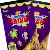 Dragons Life Darice Sticker Book - SB21