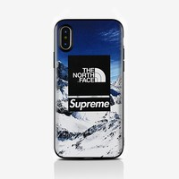 The New The North Face $ Sperpreme Print Ipohne  Iphone 6/6s,Iphone 6 Plus/6s Plus,Iphone 7,Iphone 7 Plus,Iphone 8,Iphone 8 Plus,