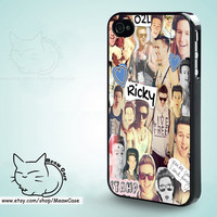 Ricky Dillon Our Second Life (O2L) iPhone 5 Case,iPhone 5S Case,iPhone 4S Case, iPhone 4 Case,iPhone Case - case color black,white,clear