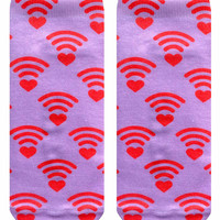 WiFi Love Ankle Socks