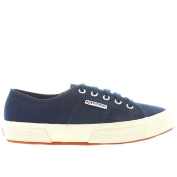 ONETOW Superga 2750 COTU Classic - Navy Canvas Lace-Up Sneaker