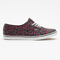 Leopard Canvas Authentic Lo Pro