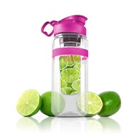 Healthful Hydration: Premium Tritan Fruit Infusing Sport Water Bottle - 32oz Ounce BPA Free