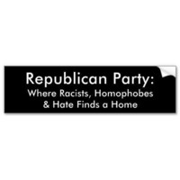 Anti-Republican Bumper Stickers from Zazzle.com