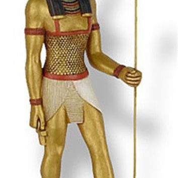 Seth the God of Chaos and Destruction Egyptian Statue, Assorted Sizes