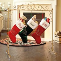 Christmas Stocking Holder Stand