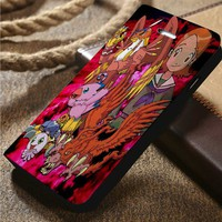 Digimon Adventure Digidestined Sora Custom Wallet iPhone 4/4s 5 5s 5c 6 6plus 7 and Samsung Galaxy s3 s4 s5 s6 s7 case