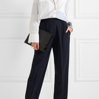 Acne Studios - Milica cropped crepe straight-leg pants