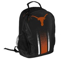 * Texas Longhorns Official NCAA Striped Primetime Backpack Gym Bag
