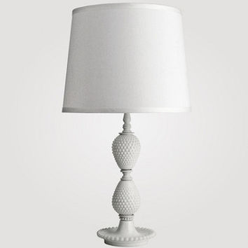 Sophie Milk Glass Table Lamp