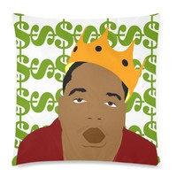 Biggie Smalls Pop Icon Pillowcase & Insert - Pillow Available in Many Styles