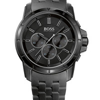 Hugo Boss Mens Origin Black Chronograph Watch