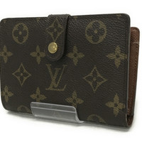 Louis Vuitton Monogram Porte Billets Viennois Wallet M61663 Authentic F/S Japan