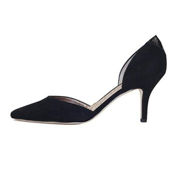 DCCKLP2 Sam Edelman for Women: Opal Black Suede Heel
