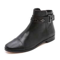 Ben Cap Toe Booties