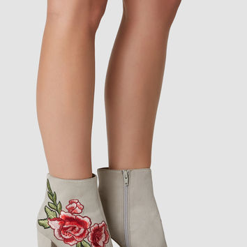 There She Rose Booties