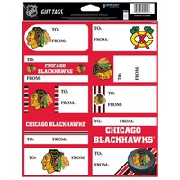 Chicago Blackhawks WinCraft Set of 10 Adhesive Gift Tags