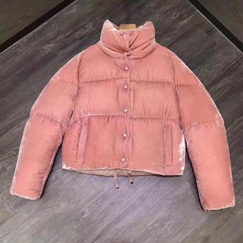 cc spbest Moncler Womens Suede Rose