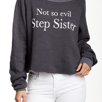 WILDFOX | Not So Evil Cropped Sweatshirt | Nordstrom Rack
