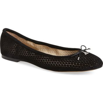 Sam Edelman 'Felicia' Perforated Flat | Nordstrom