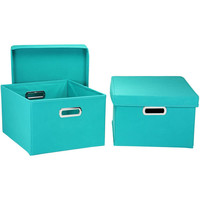 Walmart: Household Essentials Nested 2-Piece Box Set with Lids