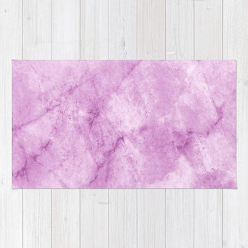 Marble Collection: Purple Marble Rug, Light Purple Area Rug, Purple Nursery Rug, Purple Bedroom Rug, Marble Area Rug, Pastel Purple Rug
